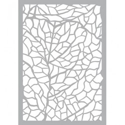 (470.802.023)Pronty Designs, 148 X 210 mm - Mask Stencil Leaves