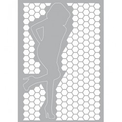 (470.802.022)Pronty Designs, 148 X 210 mm - Mask Stencil Highhee