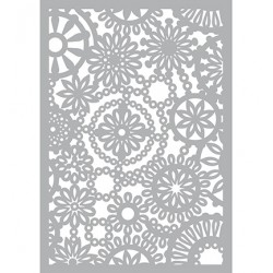 (470.802.021)Pronty Designs, 148 X 210 mm - Mask Stencil Flower