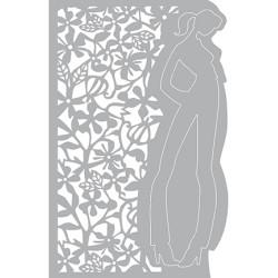 (470.802.019)Pronty Designs, 148 X 210 mm - Mask Stencil Flower