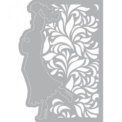 (470.802.018)Pronty Designs, 148 X 210 mm - Mask Stencil Walking