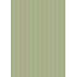 Pergamano Parchment paper stripes olive green 1 s A4(61819)