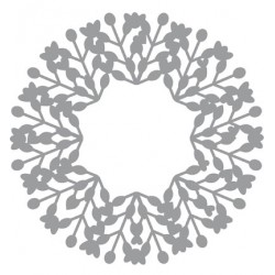 (470.801.015)Pronty Designs, 150 x 150mm - Mask Stencil Wreath