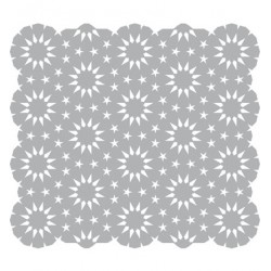 (470.801.014)Pronty Designs, 150 x 150mm - Mask Stencil Stars in