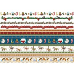 Pergamano Victorian Christmas  strips 1S (61831)