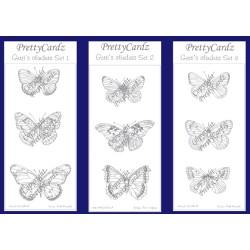 PrettyCardz Vlinderset