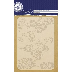 (AUEF1007)Aurelie Budding Blossom Background Embossing Folder