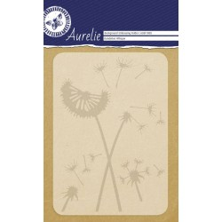 (AUEF1008)Aurelie Dandelion Whisper Background Embossing Folder