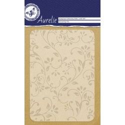 (AUEF1009)Aurelie Blossoming Vine Background Embossing Folder