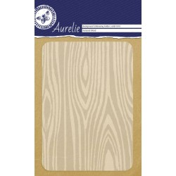 (AUEF1010)Aurelie Textured Wood Background Embossing Folder