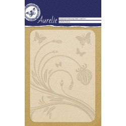 (AUEF1011)Aurelie Butterfly Festival Background Embossing Folder