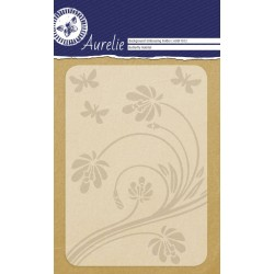 (AUEF1012)Aurelie Butterfly Habitat Background Embossing Folder