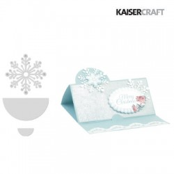 (DD318)Kaiser craft decorative die CC snowflake