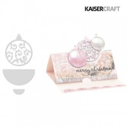 (DD319)Kaiser craft decorative die CC bauble
