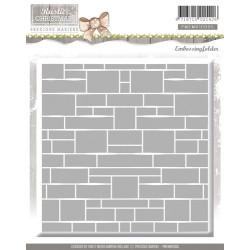 (PMEMB10005)Precious Marieke - Embossing Folder - Rustic Christm