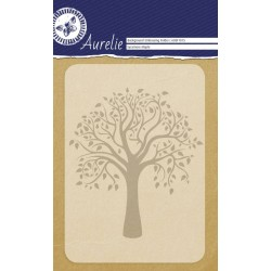(AUEF1015)Aurelie Sycamore Maple Background Embossing Folder