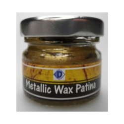 (48/022)WOODWARE Metallic Wax Paste 10 ml gold