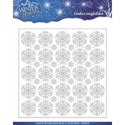 (PMEMB10006)Precious Marieke - Embossing Folder - Winter Wonderl