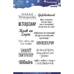 (PMCS10007)Precious Marieke - Winter Wonderland - Clear stamp