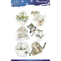 (PMCS10006)Precious Marieke - Winter Wonderland - Clear stamp