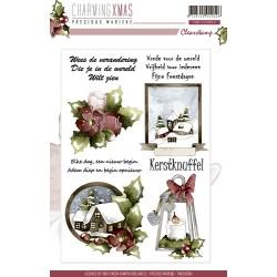 (PMCS10004)Precious Marieke - Charming Xmas - Clear stamp