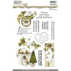 (PMCS10005)Precious Marieke - Rustic Christmas - Clear stamp