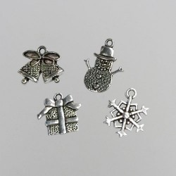 (CHARM005)Nellie Snellen Metal Charms - Christmas