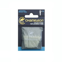 (CT9501)Chameleon Pen Replacement Brush Tips 10/Pk