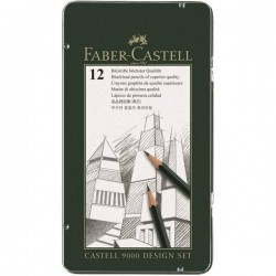 (119064)Faber Castell Pencil 9000 Designset
