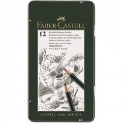 (119065)Faber Castell Pencil 9000 Art set