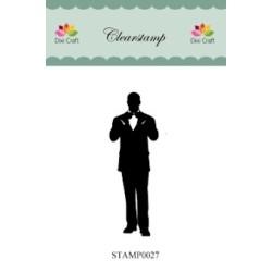 (STAMP0027)Dixi Clear Stamp man