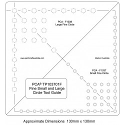 (PCA-TP103701)FINE Small and Large Circle Tool Guide