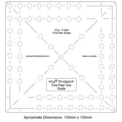 (PCA-TP105401)FINE Pear Shape Tool Guide