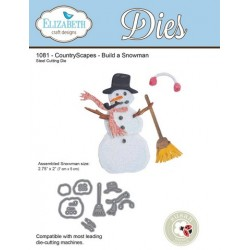 (SKU1081)Elizabeth Craft Design Die Build a Snowman