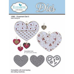 (SKU1066)Elizabeth Craft Design Die Ornament set 5