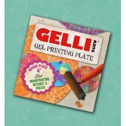 (InCase)Gelli Printing Plate rond 10.16cm