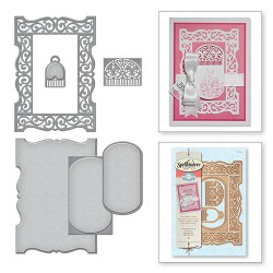 (S6-051)Spellbinders Shapeabilities Flourished Frame