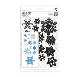 (XCU503923)Xcut A5 Dies Set (13pcs) - Snowflakes