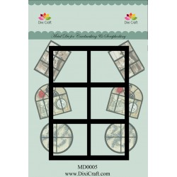 (MD0005)Dixi mal window rectangle