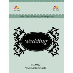 (MD0012)Dixi mal label Wedding