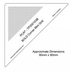 (PCA-TP200103)BOLD Corner Mini Grid