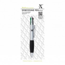 (XCU268701)Xcut 4 In 1 Embossing Pen