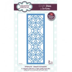 (CED1614)Craft Dies - Ornate Octagons