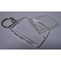 (600949)Plastic pendant rectangle