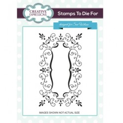 (UMS680)Stamps To Die For - Emma's Joyful Frame