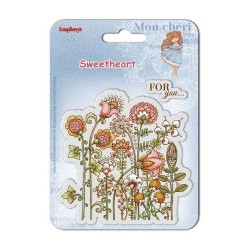 (SCB4907006B)ScrapBerry's Clear Stamps Sweetheart No. 3