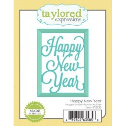 (TE733)Taylored Expressions Happy New Year