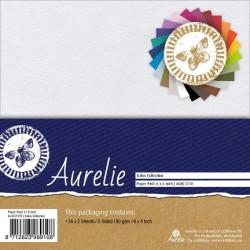 (AUKC1010)Aurelie Kalos Collection Paper Pack 90 gsm 6x6 Inch