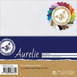 (AUKC1004)Aurelie Kalos Collection Paper Pack 220 gsm 6x6 Inch