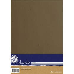 (AUSP1006)Aurelie Kraft Cardstock Brown